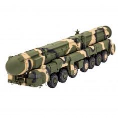 Maquette Camion et fusée Topol (SS-25 Sickle)