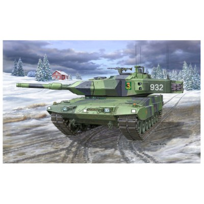 Maquette char : Strv 122A/122B Swedish Leopard 2 - Revell-03199