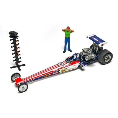 Maquette dragster : Tom 'Mongoose' McEwen Rail Dragster - Revell-85-14908