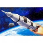 Maquette fusée Apollo Saturn V