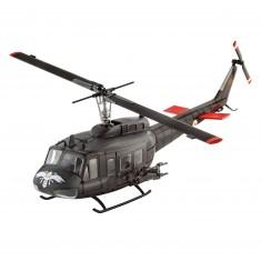 Maquette hélicoptère : Bell UH-1H Gunship