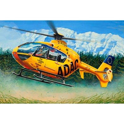 Maquette hélicoptère : Easy Kit : EC 135 ADAC - Revell-06598