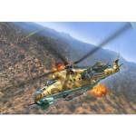 Maquette hélicoptère : Mil Mi-24D Hind