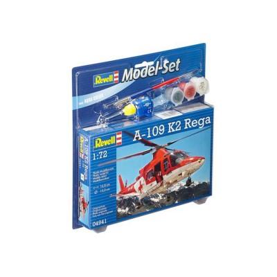 Maquette hélicoptère : Model Set A-109 K2 Rega - Revell-64941