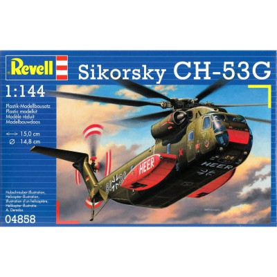 Maquette hélicoptère : Sikorsky CH-53G - Revell-04858