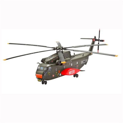 Maquette Hélicoptère CH-53G Heavy Transport : Model-Set - Revell-64858