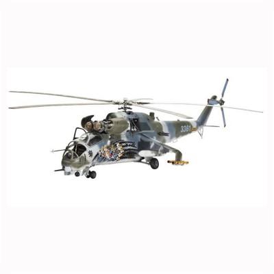 Maquette Hélicoptère Mil Mi-24V Hind E : Model-Set - Revell-64839