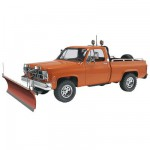 Maquette Pick Up GMC chasse-neige