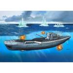 Maquette sous-marin  : German Submarine TYPE IX C/40 (U190)