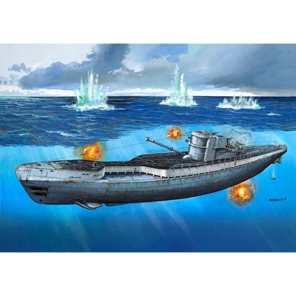 maquette sous marin german submarine type ix c 40 u190 jeux et jouets revell avenue des jeux. Black Bedroom Furniture Sets. Home Design Ideas