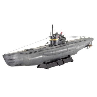 Maquette sous-marinallemand U-Boot Type VII C/41: Atlantic Version - Revell-05100