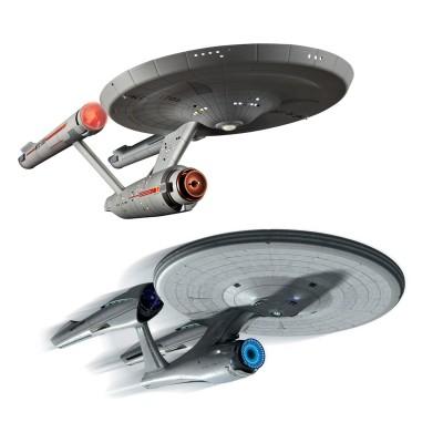 Maquette Star Trek : Coffret Anniversaire : 2 maquettes U.S.S. Entreprise - Revell-05721