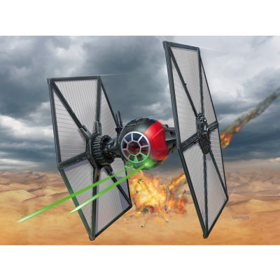 Maquette Star Wars : Easy Kit : First Order Special Forces Tie Fighter - Revell-06693