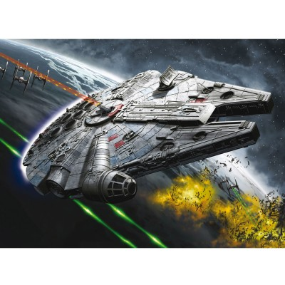 Maquette Star Wars : Easy Kit : Millennium Falcon (Niveau 1) - Revell-06752