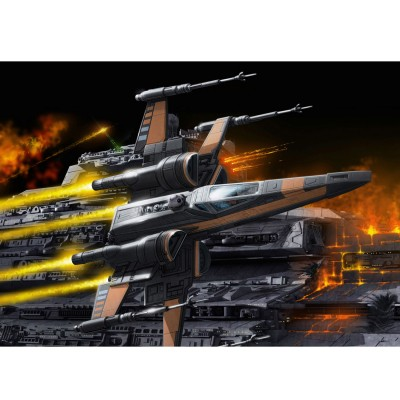 Maquette Star Wars : Easy Kit : Poe's X-Wing Fighter (niveau 1) - Revell-06750