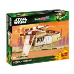 Maquette Star Wars : Easy Kit : Republic Gunship (Clone Wars)