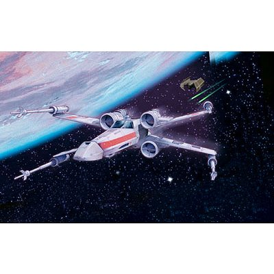 Maquette Star Wars : Luke Skywalker's X-wing Fighter - Revell-06656