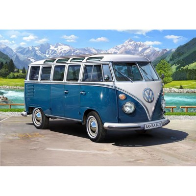 Maquette véhicule : Volkswagen T1 Samba Bus - Revell-07009