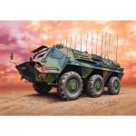 Maquette véhicule militaire : TPz 1 Fuchs EloKa Hummel / ABC Spürpanzer