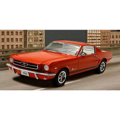 Maquette Ford Mustang : maquette voiture 1965 ford mustang 2 2 fastback revell rue des maquettes ~ Nature-et-papiers.com Idées de Décoration