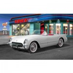Maquette voiture : '53 Corvette Roadster