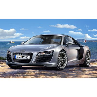maquette plastique marque revell voiture audi r8. Black Bedroom Furniture Sets. Home Design Ideas