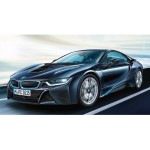 Maquette voiture : BMW i8