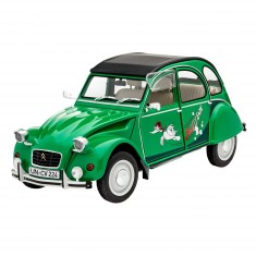 Maquette voiture : Citroën 2 CV Sauss Ente