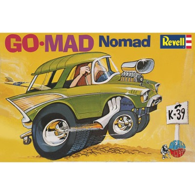 Maquette voiture : Dave Deal : Go-Mad Nomad - Revell-85-14310