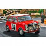 Maquette voiture : Mini Cooper Rallye de Monte Carlo 1964