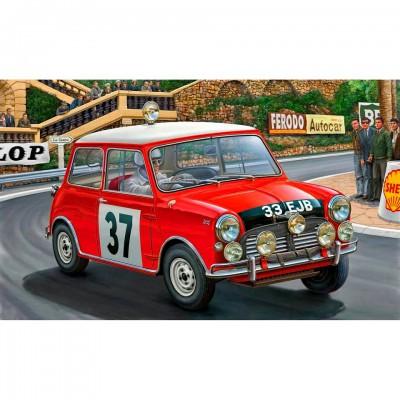 Maquette voiture : Mini Cooper Rallye de Monte Carlo 1964 - Revell-07064