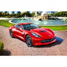 Maquette voiture : Model-Set : 2014 Corvette Stingray