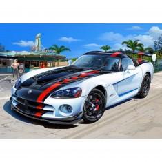 Maquette voiture : Model-Set : Dodge Viper SRT10 ACR