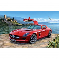 Maquette voiture : Model-Set : Mercedes SLS AMG