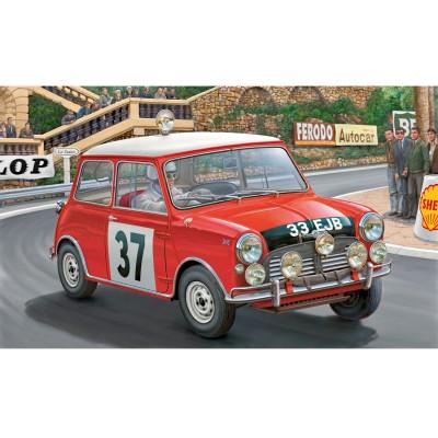 Maquette voiture : Model-Set : Mini Cooper Rallye Monte Carlo - Revell-67064