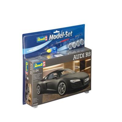 Maquette voiture : Model Set Audi R8 - Revell-67057