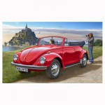 Maquette voiture : Model Set Volkswagen Beetle Cabriolet 1970