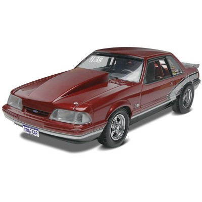 Maquette voiture : Mustang LX 5.0 Drag Racer '90 - Revell-85-14195