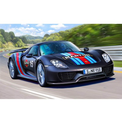 Maquette voiture : Porsche 918 Spyder (with Weissach package) - Revell-07027
