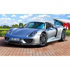 Maquette voiture : Porsche 918 Spyder