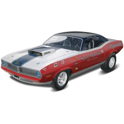 Maquette voiture : Sox & Martin '70 Plymouth Hemi Cuda - Revell-85-14196