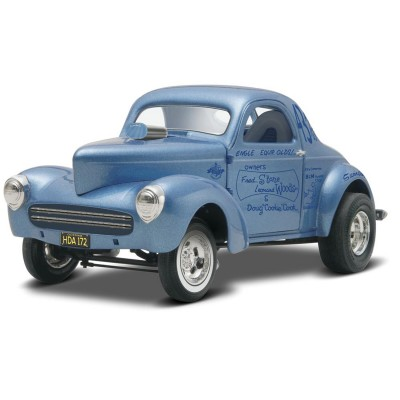 Maquette voiture : Stone Woods & Cook '41 Willys - Revell-85-11287