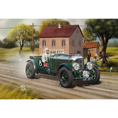 maquette voiture ancienne bentley 4 5l blower revell. Black Bedroom Furniture Sets. Home Design Ideas