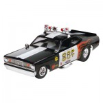 Maquette voiture de police Plymouth Duster Cop Out