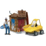 Maquette voiture et figurine : Surfite avec figurine Ed Roth