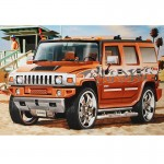 Maquette voiture Hummer H2 : Model-Set