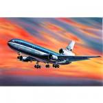 Maquette avion: McDonnell Douglas DC-10 KLM