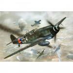 Maquette avion: Messerschmitt Bf 109 G-10