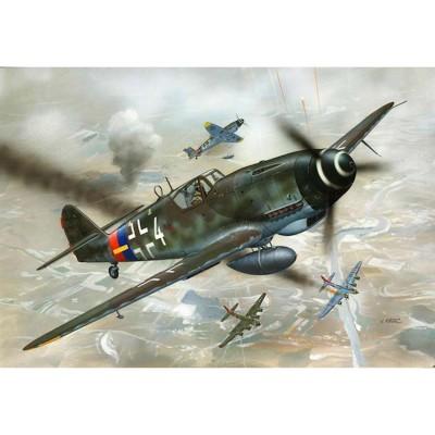 Maquette avion: Messerschmitt Bf 109 G-10 - Revell-04160