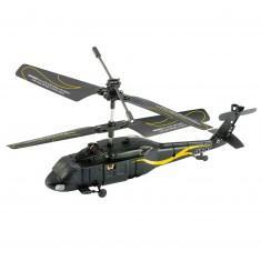 Micro hélicoptère radiocommandé Turaco noir